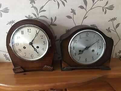 Chiming Mantle Clocks X 2 Smiths Enfield