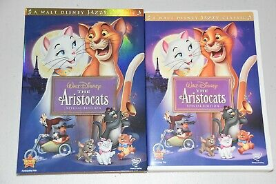 Walt Disney The Aristocats (DVD, Special Edition)  Like New