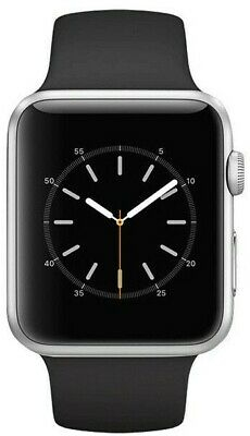 Apple Watch Series 3 Silver Aluminum 42 MM GPS  (Black Band Only)