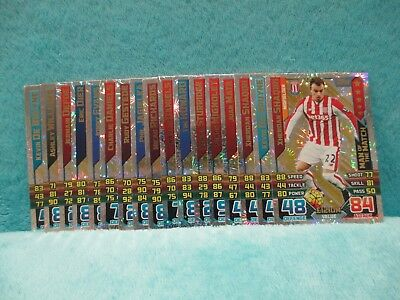 Match Attax Attack Extra 15/16 2015/16 - Bundle of x 17 Man of the Match Cards ~
