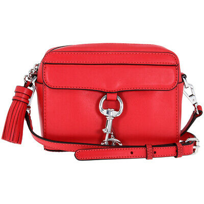 Rebecca Minkoff MAC Ladies One Size Red Leather Crossbody Bag HU17EFCX01-642