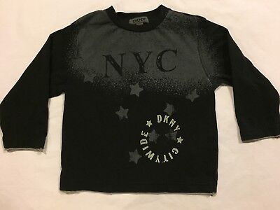 DKNY Baby Boy Long Sleeve Shirt Size 24 Months