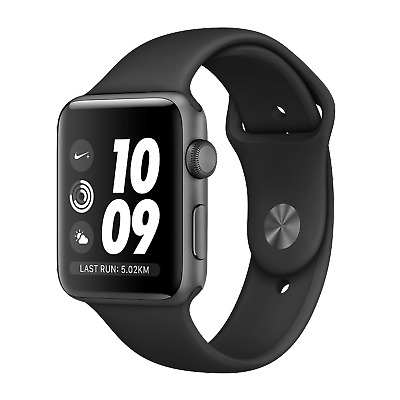 Apple Watch Series 2 Nike + 38mm GPS Space Gray - Black Band