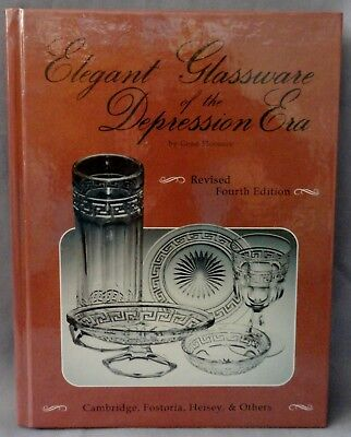 """elegant Glassware Of The Depression Era"" Gene Florence 1991 Revised 4Th Edition"