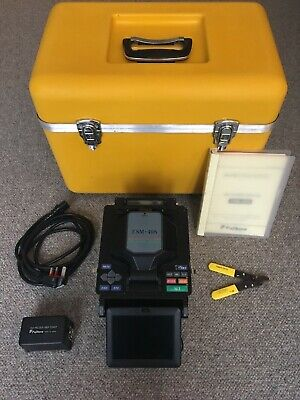 Fujikura FSM-40S Fibre Core Alignment Fusion Splicer Arc Count 9326 + Cleaver
