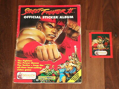 Street-Fighter-2-Complete-Merlin-sticker