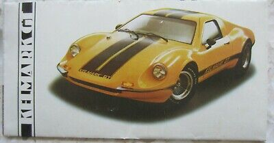 Kelmark Gt (Ferrari Dino Replica) Fold Out Factory Pamphlet - Free Shipping