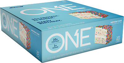 One Brand Protein Bars | Box Of 12 | ALL FLAVORS IN-STOCK | Ships USPS PRIORITY
