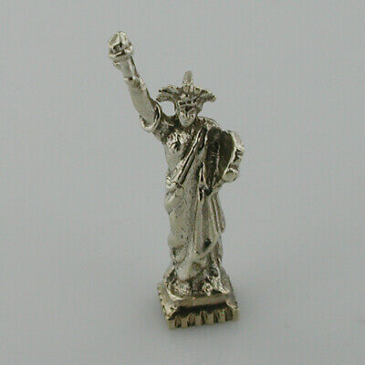 Statue of Liberty Sterling Silver Vintage Charm