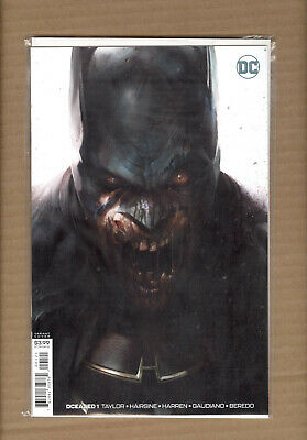 DCEASED #1  Batman Francesco Mattina Variant DC COMICS 2019 NM