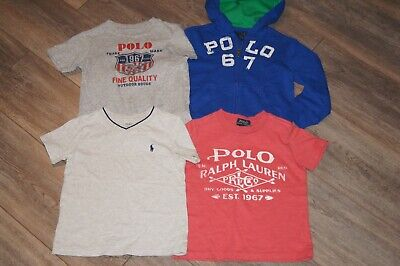Polo Set Boy's Jacket Shirts Size 3T Toddler EUC NWOT Top