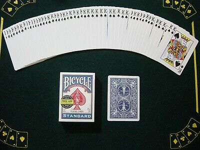 One Way Force Deck - Blue Bicycle - King Of Spades - 52 Cards All The Same - New