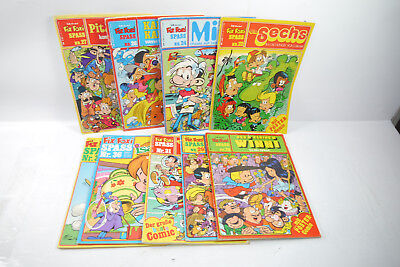 Ready and Foxi 9 Issues Fun 22, 24, 26, 27, 28, 29, 31, 36,38 Z: 2 - 3 ( Wry )