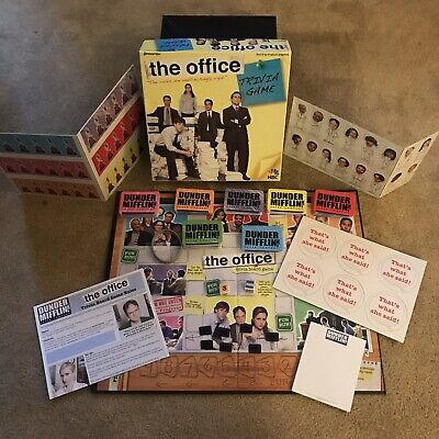 The Office TV Show Trivia Game NBC Pressman 4123 100% Complete