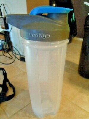 Contigo Shaker Bottle/Mixing Bottle 24 Oz- 700 Ml-Protein Shakes/Mixer/Exercise