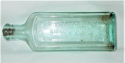 Great Antique Dr. Kilmer's Swamp Root Medicine Bottle. Binghamton, N.y., U.s.a.