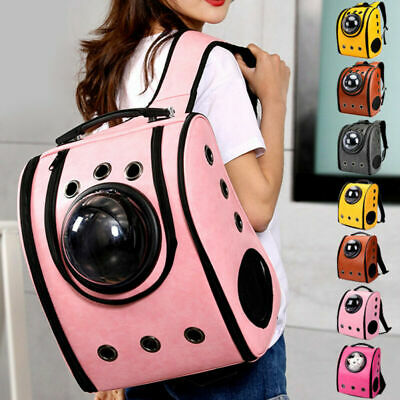 Pet Cat Puppy Bag Portable Space Capsule Bubble Carrier Waterproof Backpack