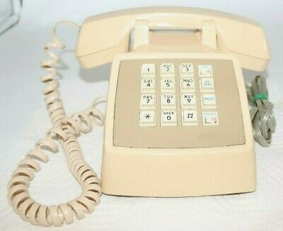 AT& T Traditional 100 Push Button Corded Desk Phone.
