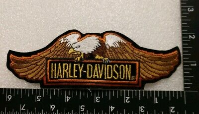 HARLEY DAVIDSON Straight Wing Screaming Eagle  6 Inch Patch New