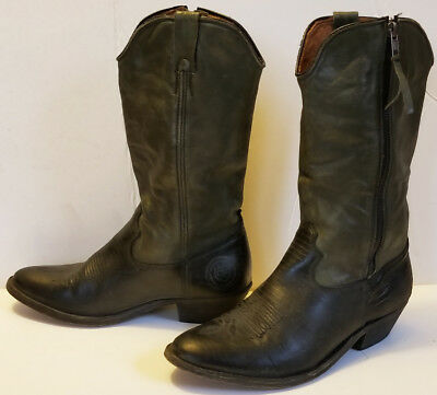 d42d59ed9 NEW WOMENS CATARINA Martins Handcrafted Tall Black Leather Boots ...