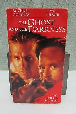 The Ghost and the Darkness (VHS, 1996) Michael Douglas, Val Kilmer