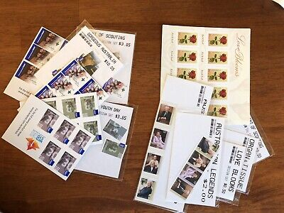 Australian Postage Stamps Face Value $61.75 (mostly international)