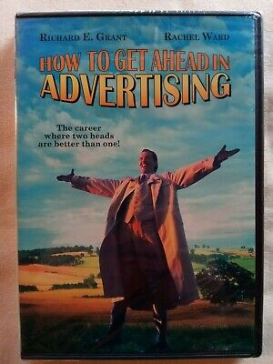How to Get Ahead in Advertising (DVD, Widescreen, 1988) New Unopened