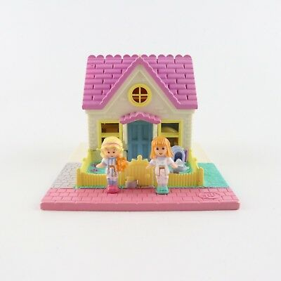 POLLY POCKET 1993 Cozy Cottage *COMPLETE
