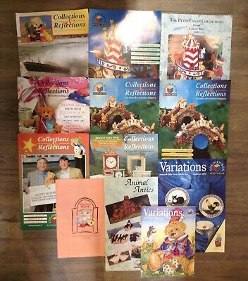 Bear Craft Magazines Joblot Collections & Reflections The Colour Box Collectors