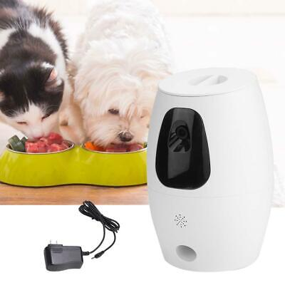 Automatic Pet Feeder Remote Control WiFi Intelligent Cats Dogs Monitor Feeder