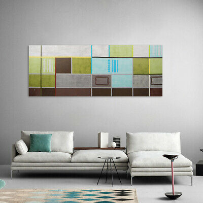 Hand Painted Oil Painting Wall Art Modern Home Decor Stretched Canvas Framed
