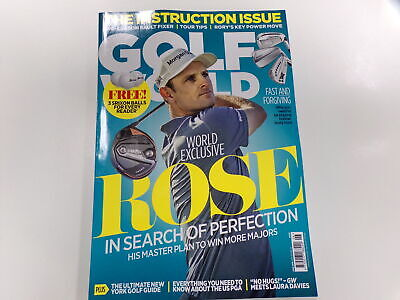 Golf World - magazine withJustin Rosecover -June 2019