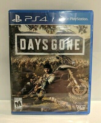 PS4 DAYS GONE Sony Playstation 4 Exclusive BRAND NEW Sealed Free Shipping USA