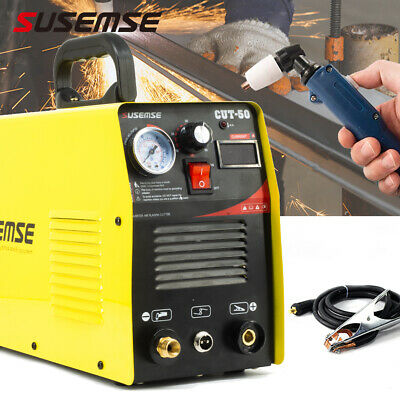 CUT50 Plasma Cutter Inverter 50A DC 230V Air Cutting Machine CUT 12mm&Torch Kits