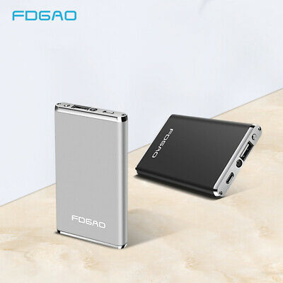 UK FDGAO 10000mAh Mini Power Bank Battery Pack Portable Charger For Mobile Phone