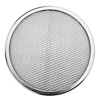 Screen Baking Tray Seamless Mesh Pan ZM7K Aluminum Alloy Pizza Tool Oven Kitchen