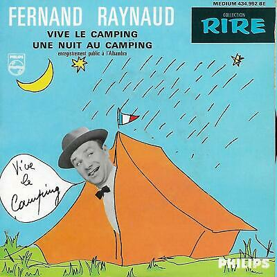 """FERNAND RAYNAUD   """" VIVE LE CAMPING """"   (EP 4 titres)"""