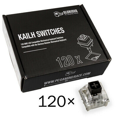 Glorious PC Gaming Race Kailh Box Black Switches (120 Stück)