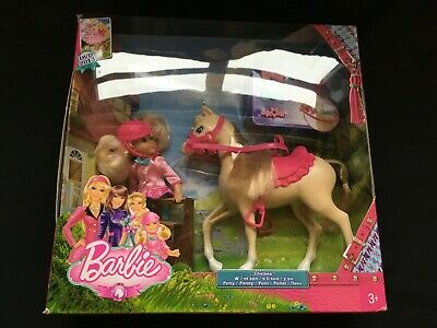 Barbie: A Pony Tale - Chelsea and Pony set X8412 - New in box