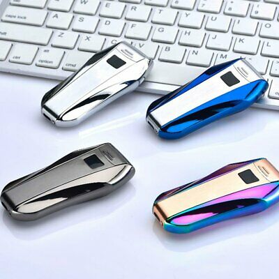 USB Lighter Double Arc Windproof Flameless Electronic Plasma Lighter
