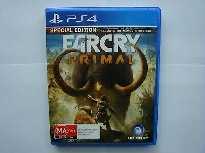 Far Cry Primal PS4 Special Edition *LIKE NEW*