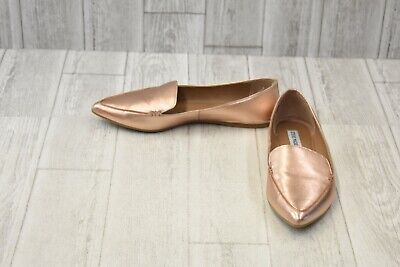 345df13ea STEVE MADDEN FEATHER Loafer Flat - Women's Size 7M - Camel Suede ...