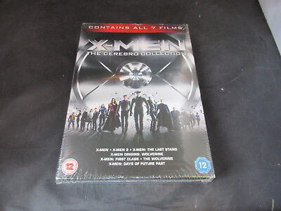 DVD Boxset X-Men The Cerebro Collection 7 Film Set New Sealed Damaged