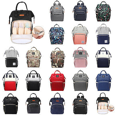 LEQUEEN Mummy Maternity Nappy Diaper Bag Backpack Large Capacity Travel Rucksack