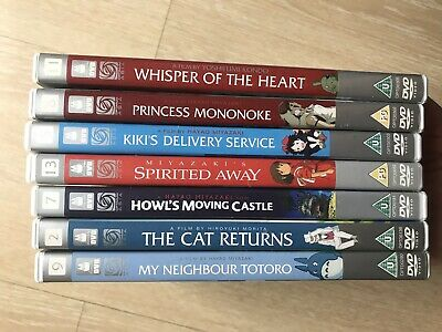 Studio Ghibli DVD Collection Bundle Spirted Away