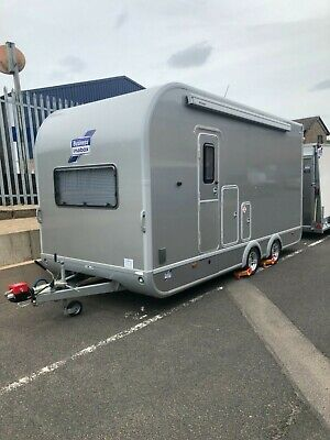 Ifor Williams Box Trailer /Race Transporter with Kitchen, Toilet & Sleeping Area