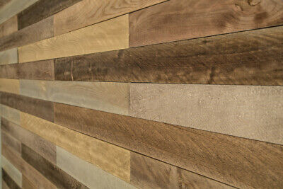 Provincial Plank Stylish Wooden Wall Cladding Pack - 0.93m2 Coverage