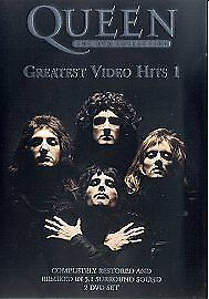 Queen - The DVD Collection: Greatest Video Hits 1 (DVD, 2002, 2-Disc Set) Sealed