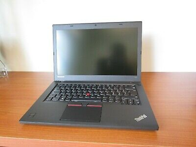 "Notebook Lenovo ThinkPad T450 - i7 - 5600U 2,6Ghz - 4GB - 500GB - 14,1"" - Win10"
