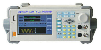 USED digimess SG200 9kHz to 450MHz DDS rf signal generator